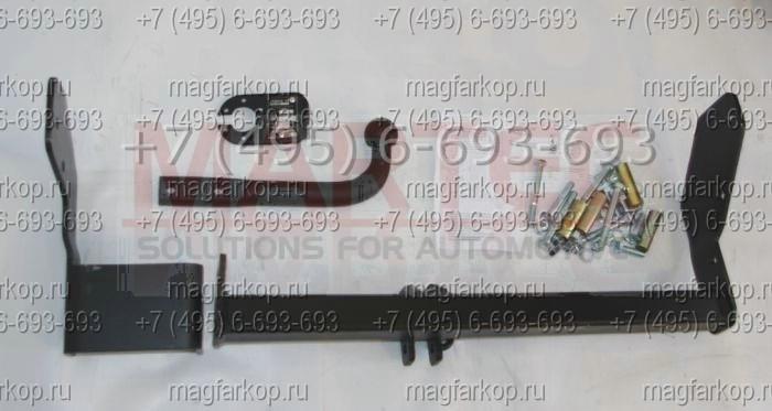 как установить фаркоп на киа спортейдж 3 фото